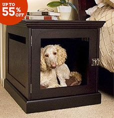 Make your furry friends feel special with our collection of best-selling pet furniture and animal-themed decor. Hardwood feeders and colorful beds keep pups extra happy, while tunnels and sisal-rope trees are a cat's dream-come-true. Walnut-finished gates, dual-purpose crates, and litter-box enclosures turn pet furniture into stylish decor.