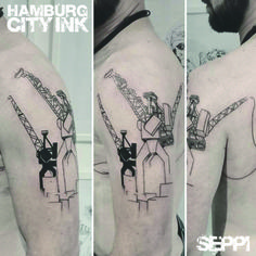 #Tattoo #Blackwork #Tatt #Hamburgtattoo #Tattooist #Tattooartist #Seppi #Hamburgcityink #Hamburgcity #HCI #Tattoostudio #Lining #Tattoolining #Minimalistictattoos #Minimalistic #Finelines #Crane #Cranetattoo #Hamburg #Harbour #Hafenkrantattoo #Hafenkran #Maritimestattoo #Maritim #Cranes #Kräne