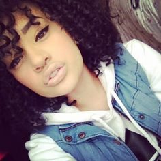 glambunni: curly cutie