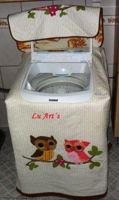 Capa lavadora de roupas