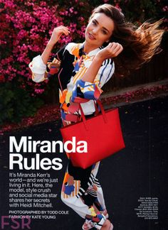 Supermodel mom Miranda Kerr talks about the only man in her life who has exactly the same humor ==> http://www.pretamama.com/celebs/6857-miranda-kerr-opens-up-about-motherhood-in-lucky-magazine- - Pret a Mama - Lucky Magazine