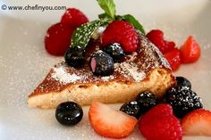 Ricotta Cheesecake by Chef In you