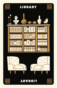 Clue Card Library, Andrew Kolb