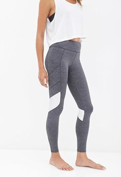 Colorblocked Performance Leggings