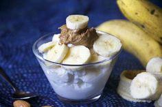 Banana Almond Crunch Greek Yogurt