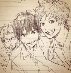hiroto suwa and Hagita saku and kakeru naruse
