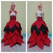 Resultado de imagen para barbie com roupa de eva passo a passo