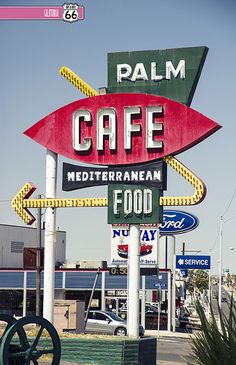 Palm Cafe. BARSTOW, CA