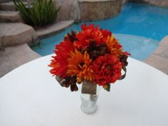 Hey, I found this really awesome Etsy listing at https://www.etsy.com/listing/157238698/bridesmaid-bouquet-in-fall-mixture