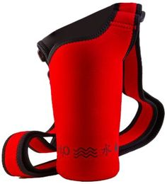 $9.99-$9.99 NEOSLING, Adjustable Neoprene Bottle Holder, Racecar Red - The NEOSLING was designed to hold all popular stainless steel bottles, as well as sports drinks or other popular beverages. With a wide, soft and stretchy Neoprene Adjustable Strap, the NEOSLING fits all body types comfortably over the shoulder or around the waist without digging in or chafing. The neoprene (think 'wet suit')  ...