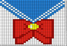 Tricksy Knitter Charts: Sailor Scout Template