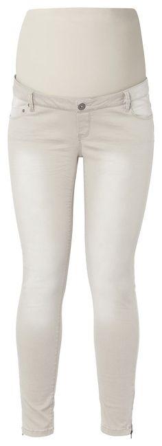 Slim Umstandshose Gigy    7/8 Umstandshose von Noppies mit Reißverschluss unten am Bein. Aus 98% Baumwolle und 2% Elastan. Hat eine leichte Waschung über die Länge des Beins. Die Hose hat ein Jerseyband, das deinen Bauch stützt. Ausgeführt als 5-Pocketmodell.    Material: 98% Baumwolle / 2% Elasthan...