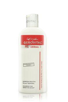 Gerovital H3 Derma  Shampoo for Sensitive Scalp 200 ml / 6.8 fl. oz. * For more information, visit image link.