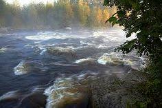 Huopanankoski Viitsaarella,suomen vanhimpia kalastuskoskia