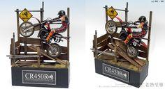 1/12 Honda CR450R Motocrosser w/Rider - TAMIYA