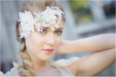 French Chic: Couture Headpieces, Veils & Headbands |Rhapsodie Paris - Want That Wedding