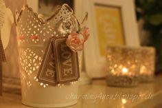 Charming4you: Teelicht mit Stampin'Up!
