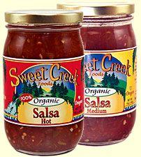 Sweet Creek Hot Salsa