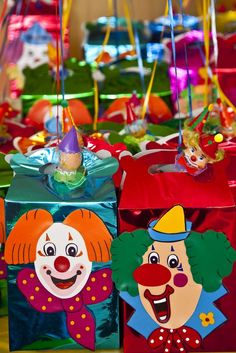 Clowns Carnival Birthday Party Ideas | Photo 6 of 21 | Catch My Party