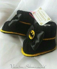 Бэтмен. ручной работы BABY БОТИНОК. прелестный черный пинетки. Baby ботинок. in Одежда, обувь и аксессуары, Одежда для малышей, Детская одежда унисекс (новорожденные-5Т)   eBay