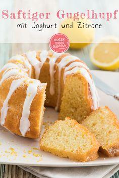 New Easy Cake : Lemon Yogurt Bundt cake, Lemon Desserts, No Bake Desserts, Cakes Originales, Ring Cake, Lemon Yogurt, Easy Cake Decorating, Easy Cake Recipes, Food Cakes, No Bake Cake