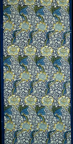 As one of the forerunners of modern design, Morris took much of his inspiration from the arts and crafts of the past. His disgust with the inferiority of many Victorian industrially made textiles, which he found lacking in both quality and appropriateness of design, led him to study the aesthetics and techniques of earlier historic examples-from tapestries to embroideries