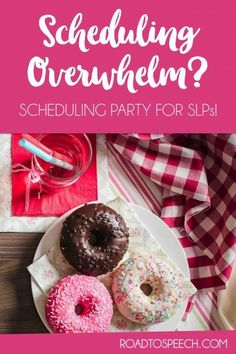 Scheduling overwhelm