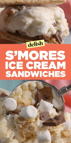 S'mores Ice Cream Sandwiches Prove S'mores Can Be Hot When They're Ice Cold