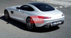 Watch New Mercedes-AMG GT Coupe Debut Live Here - First Official Photos!