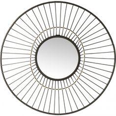 Oglindă Kare Design Filo, ø 61 cm Wall Mirror Online, Wall Mirrors Set, Mirror Set, Round Mirrors, Kare Design, Full Length Mirror Wall, Overmantle Mirror, Cheval Mirror, Triptych