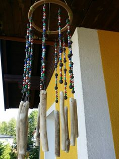 Wind Chimes, Hair Styles, Outdoor Decor, Beauty, Home Decor, Beleza, Homemade Home Decor, Hairdos, Hairstyles