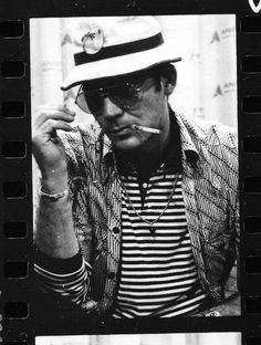 Hunter S. Thompson   #sunglasses
