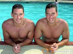 Jim and Nick Falco Love Twins, How To Have Twins, Twin Brothers, Twin Girls, Twice As Nice, Twin Photos, Two Of A Kind, Identical Twins, Double Take