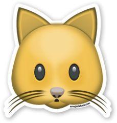 Cat Face | Emoji Stickers
