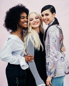 New photoshoot ofi Dove Cameron, Sofia Carson & China Anne McClain
