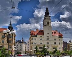 Opava (the capital of Czech Silesia), Czechia