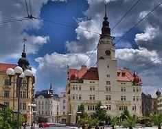 Opava - Upper Square, Silesia, Czechia