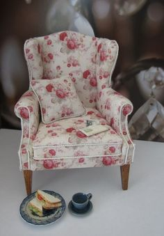 Une Petite Folie.....this chair was made by my dear friend Catherine Ronan.