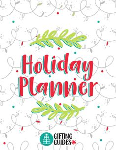FREE 2017 HOLIDAY PLANNER printable to keep you organized and stress-free this holiday season--from shopping to wrapping to shipping to writing thank you notes!