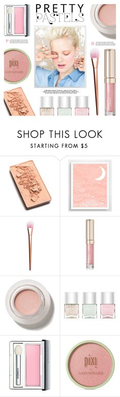 """Pretty Pastel Makeup"" by lgb321 ❤ liked on Polyvore featuring beauty, Trish McEvoy, Finny & Zook, By Terry, Nails Inc., Clinique, Pixi, polyvoreeditorial, beautyset and pastelmakeup"