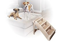 Solvit PetSafe PupSTEP Plus Pet Stairs, Foldable Steps for Dogs and Cats, Best for Small to Medium Pets: Pet Supplies Most Gifted Products Large Dogs, Small Dogs, Cat Stairs, Dog Ramp, Dog Steps, Pet Gear, Types Of Dogs, Pet Safe, Dog Supplies