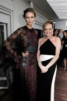 Karlie Kloss y Caroline Scheufele.jpg