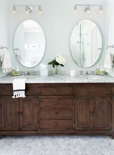Restoration Hardware St. James Double Vanity
