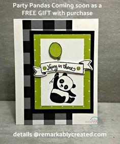 StampinUp Panda Stem