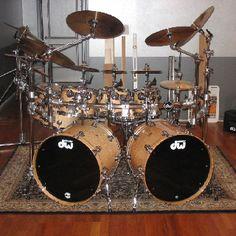 DW Drum Set. Lovin' that double kick