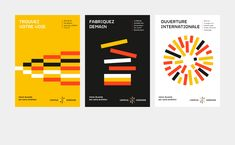 """Naming and visual Identity of the """"Campus Sup Ardenne"""" located in Charleville-Mézières (France). A """"pop"""" identity to promote academic excellence in the Ardenne. Brochure Cover, Brochure Design, Book Design, Cover Design, Communication Logo, Simple Poster, Swiss Design, Ardennes, Logo Concept"""
