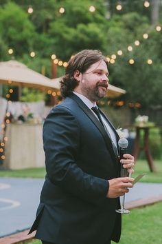 Matt giving toast