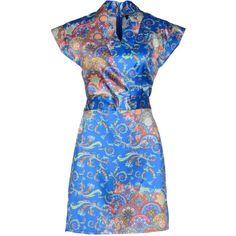 Adele Fado Short Dress ($86) ❤ liked on Polyvore