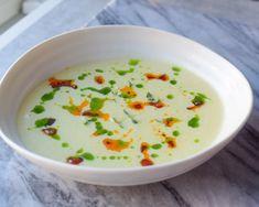 Potet og purresuppe - En Norsk klassiker som fortjener å…   Gladkokken Chorizo, Cheeseburger Chowder, Soup, Soups, Chowder