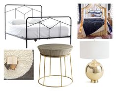"""""""bedroom ideas"""" by stonger2002 ❤ liked on Polyvore featuring interior, interiors, interior design, home, home decor, interior decorating, PBteen, Safavieh, Andrew Martin and bedroom"""